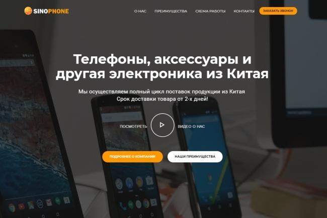 Продающий сайт - Лендинг под ключ, для любых целей 49 - kwork.ru