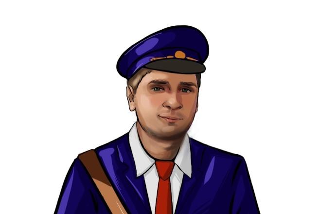 Нарисую персонажа, иллюстрацию 29 - kwork.ru