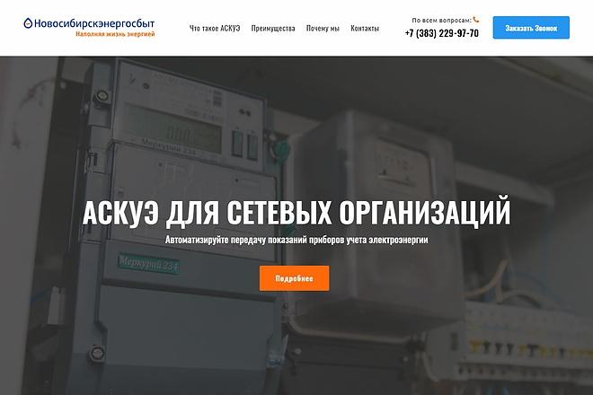 Продающий сайт - Лендинг под ключ, для любых целей 7 - kwork.ru
