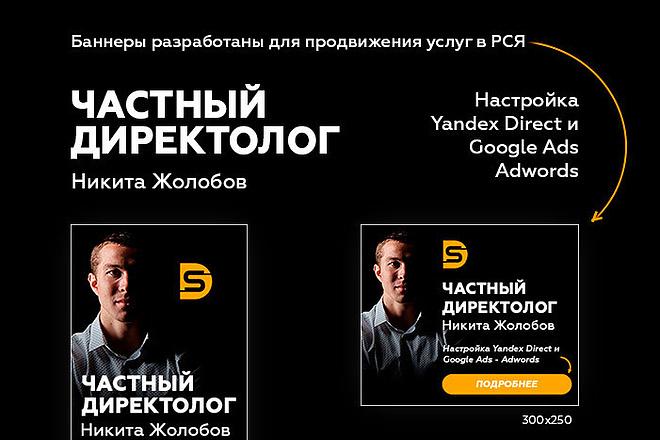 Баннеры для Яндекс - РСЯ 10 - kwork.ru