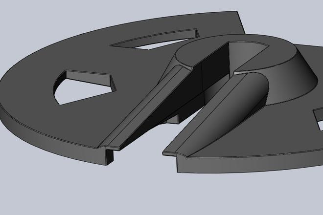 Создам 3D модель в SolidWorks. Для ЧПУ фрезера лазера или 3D Принтера 29 - kwork.ru