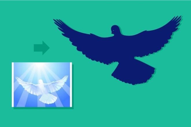 Преобразую в вектор растровое изображение любой сложности 78 - kwork.ru