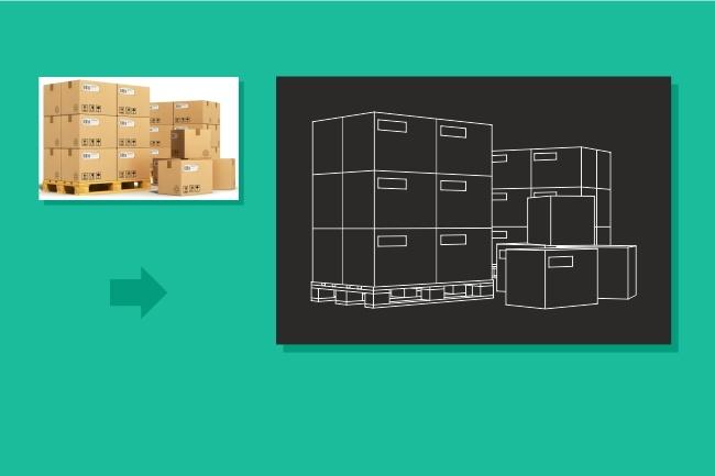 Преобразую в вектор растровое изображение любой сложности 50 - kwork.ru