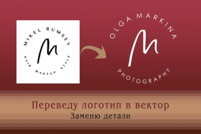 Создам логотип по вашей идее, рисунку 34 - kwork.ru