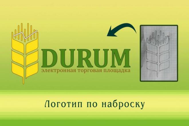 Создам логотип по вашей идее, рисунку 29 - kwork.ru