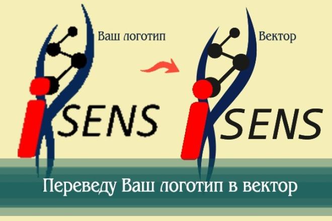 Создам логотип по вашей идее, рисунку 41 - kwork.ru