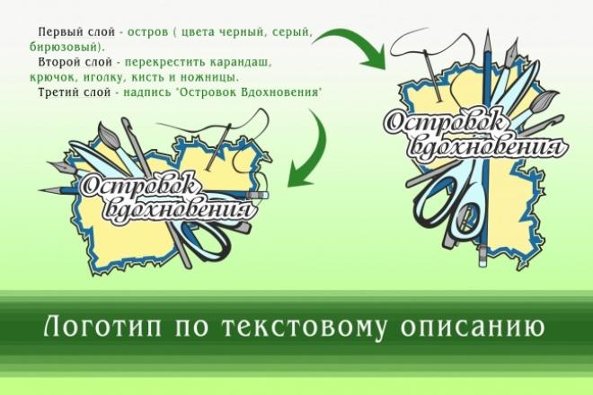 Создам логотип по вашей идее, рисунку 26 - kwork.ru