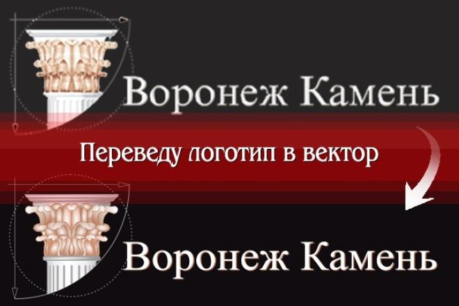 Создам логотип по вашей идее, рисунку 39 - kwork.ru