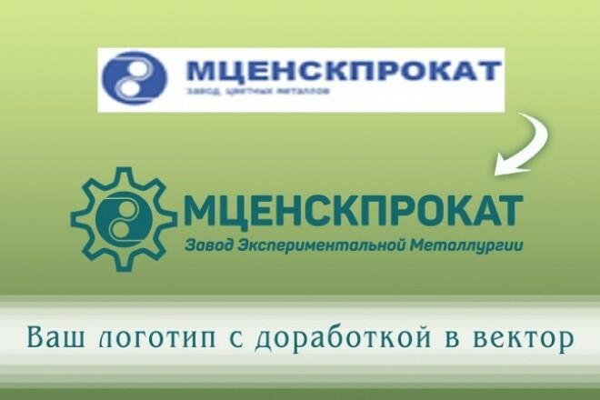 Создам логотип по вашей идее, рисунку 23 - kwork.ru