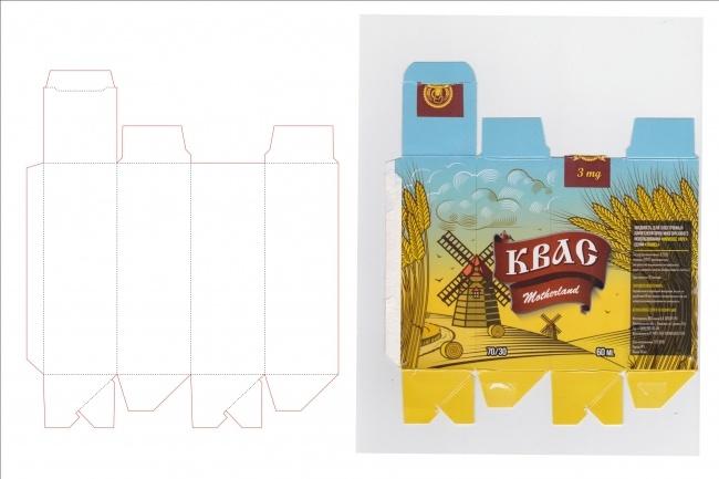 Сделаю дизайн упаковки 92 - kwork.ru