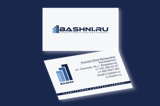 Сделаю элегантный премиум логотип + визитная карточка 48 - kwork.ru