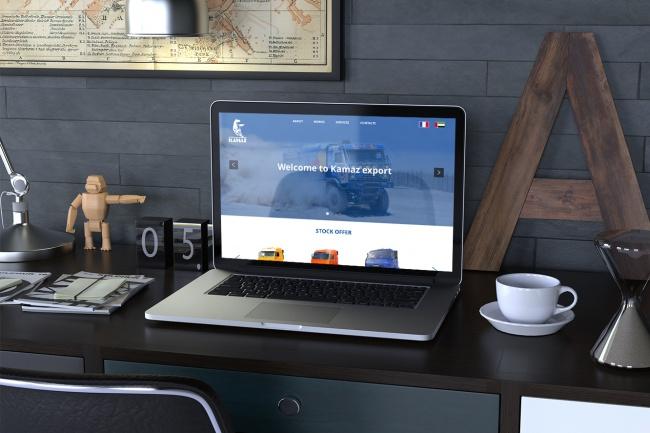 Создам дизайн страницы сайта 67 - kwork.ru