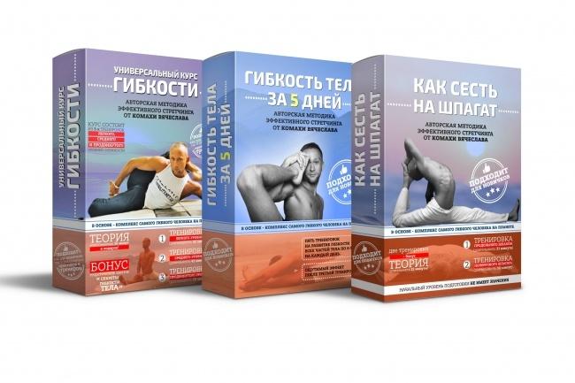 Сделаю 3D обложку для инфопродукта, DVD, CD, книги 40 - kwork.ru
