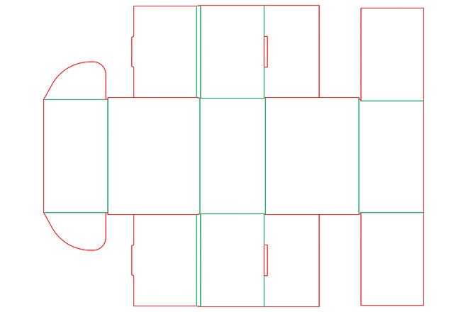 Разработка кроя упаковки из картона или микрогофрокартона 9 - kwork.ru