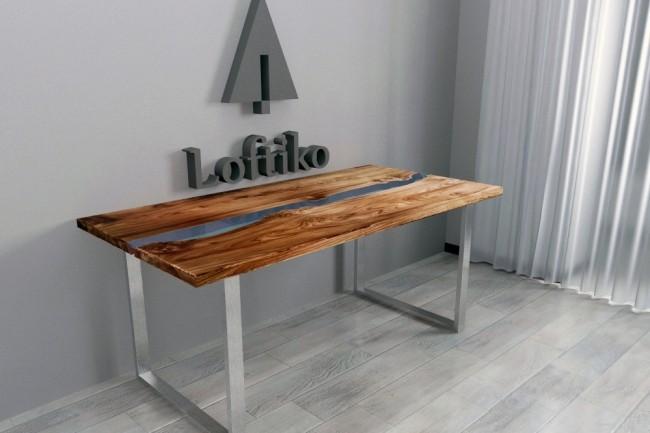 Визуализация мебели, предметная, в интерьере 62 - kwork.ru