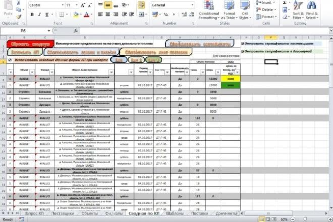 VBA Макросы MS Office 97 - kwork.ru
