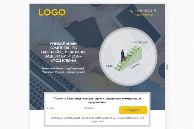 Верстка страницы сайта или лендинга из вашего PSD 26 - kwork.ru