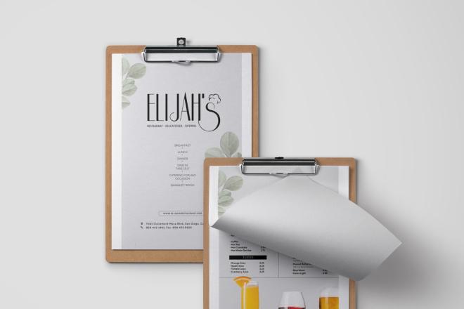 Дизайн и верстка каталога, меню. InDesign 2 - kwork.ru