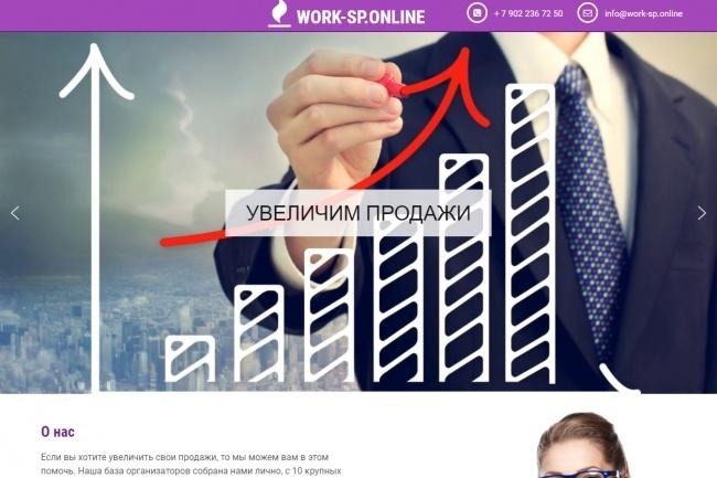 Создам сайт c удобной CMS под ключ 85 - kwork.ru