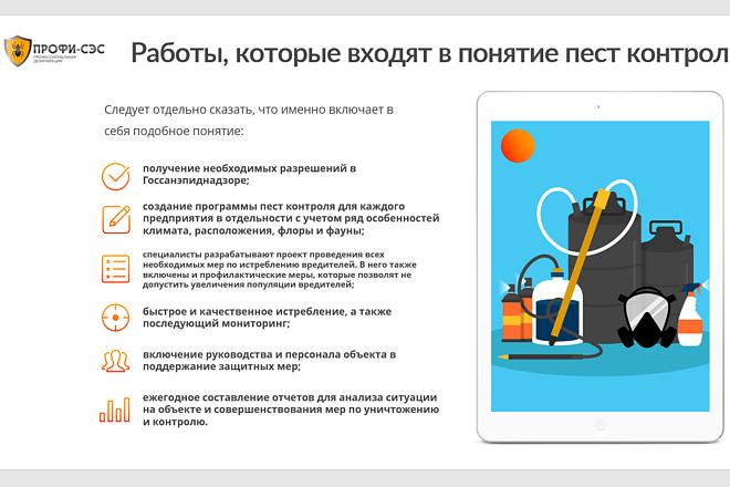 Презентация для бизнеса, грамотно, быстро 1 - kwork.ru