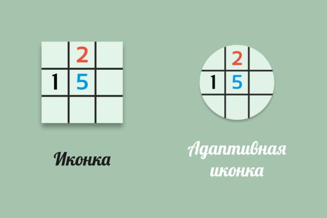Создам android иконку для Вашего приложения 2 - kwork.ru