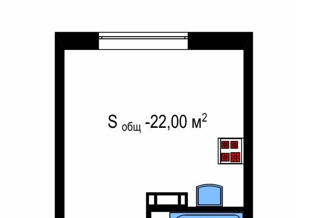 Планировка и перепланировка квартиры, дома, офиса 7 - kwork.ru