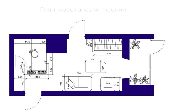 Планировка и перепланировка квартиры, дома и других помещений 15 - kwork.ru