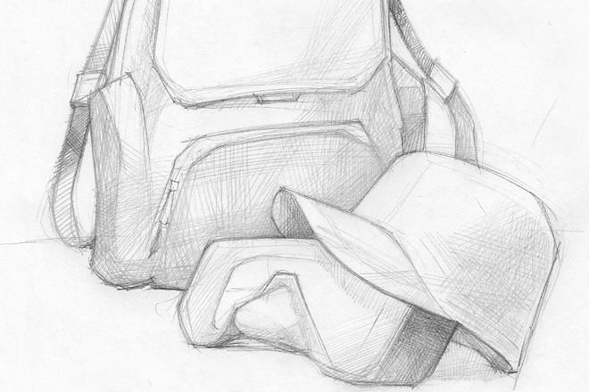 Карандашный рисунок 5 - kwork.ru