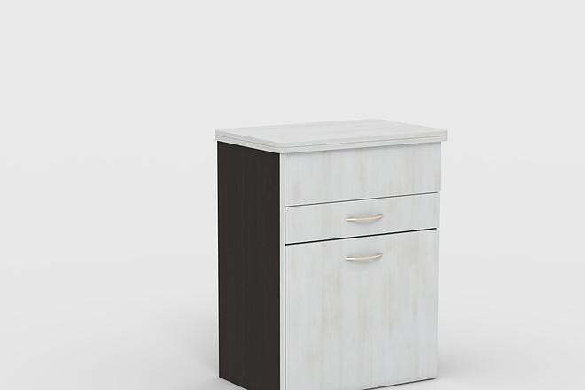 Визуализация мебели, предметная, в интерьере 6 - kwork.ru