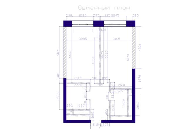 Планировка и перепланировка квартиры, дома и других помещений 25 - kwork.ru