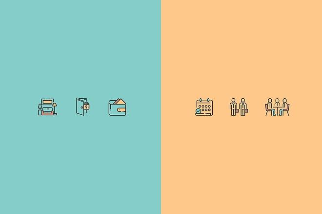 Создам 4 иконки в любом стиле, для лендинга, сайта или приложения 37 - kwork.ru