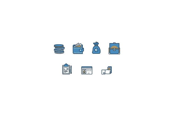 Создам 4 иконки в любом стиле, для лендинга, сайта или приложения 32 - kwork.ru
