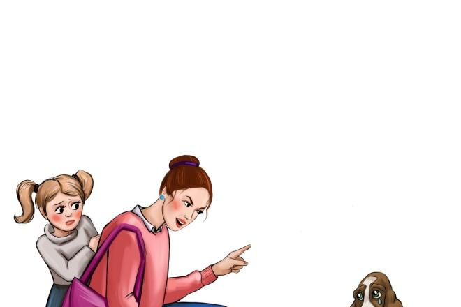 Нарисую персонажа, иллюстрацию 12 - kwork.ru