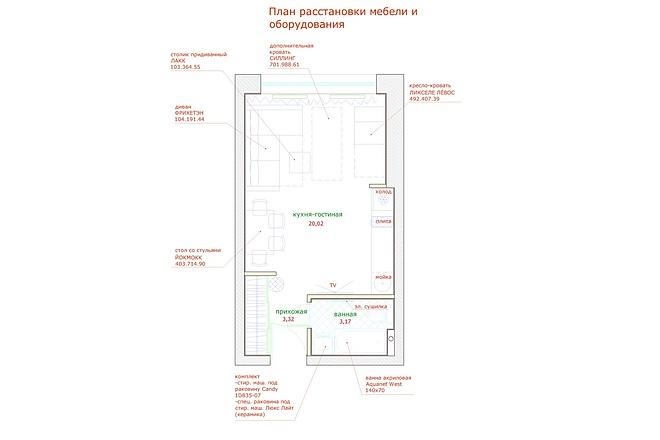 Планировка и перепланировка квартиры, дома и других помещений 37 - kwork.ru