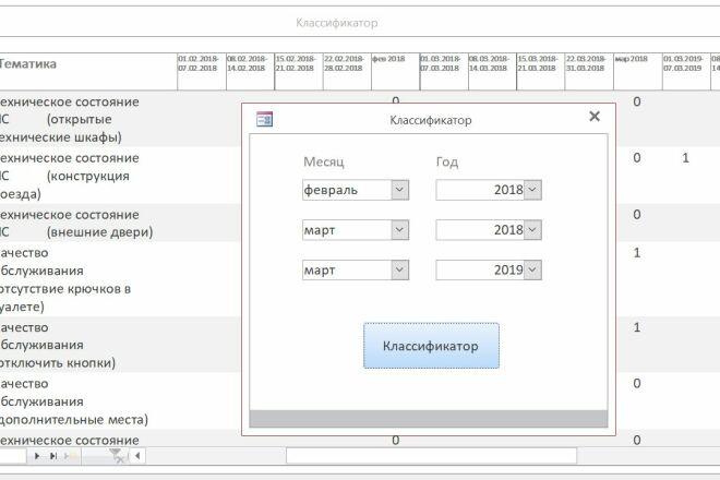 Создам базу в MS Access 10 - kwork.ru
