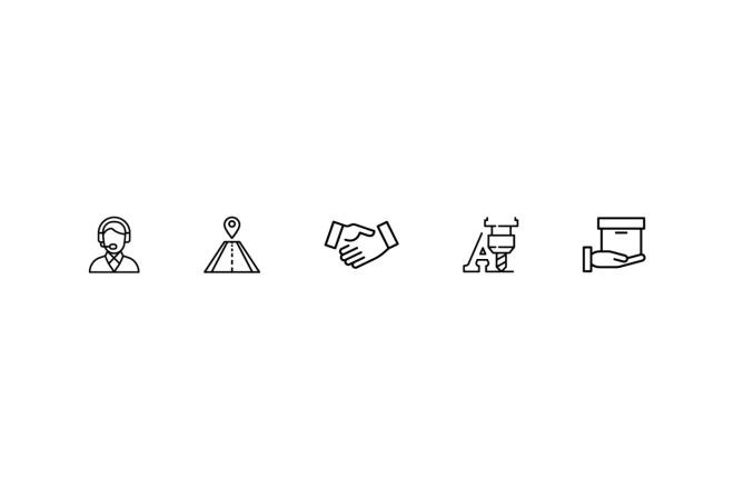 Создам 4 иконки в любом стиле, для лендинга, сайта или приложения 2 - kwork.ru