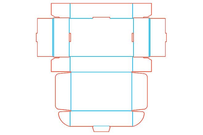 Разработка кроя упаковки из картона или микрогофрокартона 27 - kwork.ru