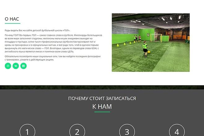 Сайт под ключ. Landing Page. Backend 35 - kwork.ru