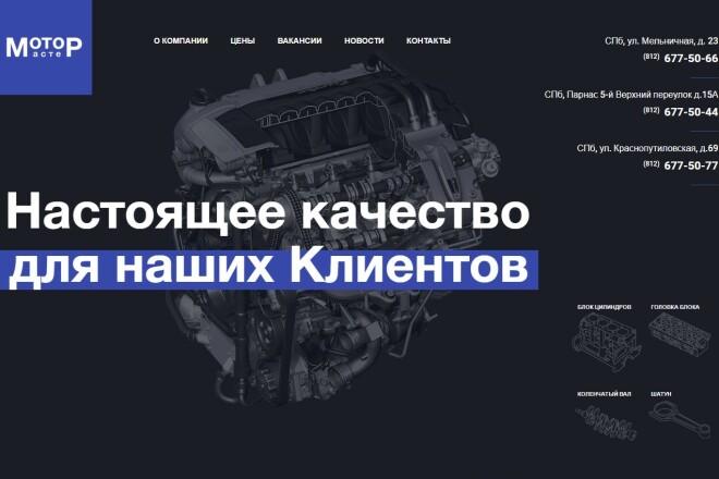 Копия Landing page с любой платформы. Лендинг, одностраничник под ключ 7 - kwork.ru