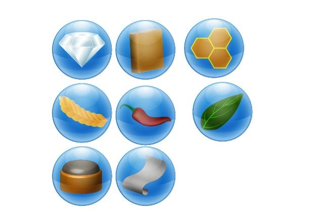 Нарисую 6 иконок в любом стиле 13 - kwork.ru