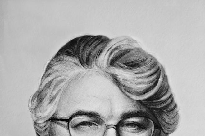 Нарисую портрет по фото карандашом 2 - kwork.ru