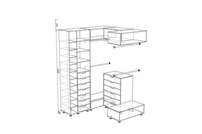 Чертежи мебели для производства в программе базис мебельщик 70 - kwork.ru