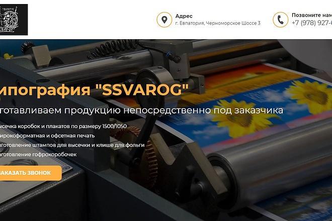 Landing Page с 0 + дизайн 29 - kwork.ru