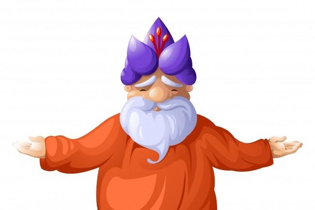 Векторная иллюстрация, персонаж 83 - kwork.ru