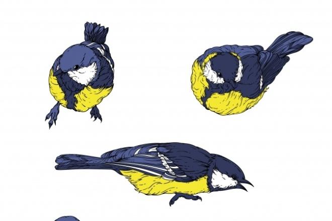 Векторная иллюстрация, персонаж 94 - kwork.ru