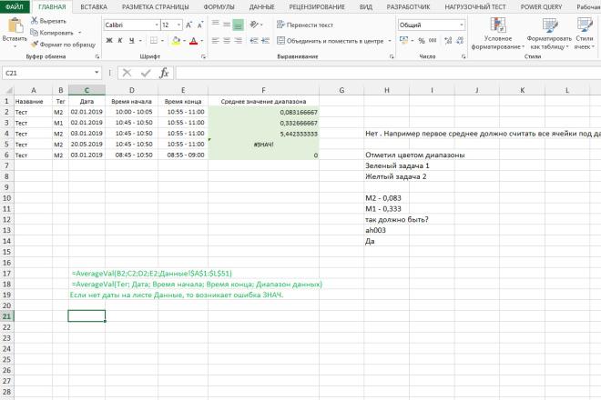Excel формулы, сводные таблицы, макросы 4 - kwork.ru