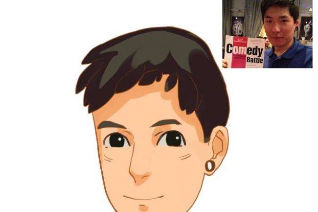 Создам ваш портрет в стиле аниме 31 - kwork.ru