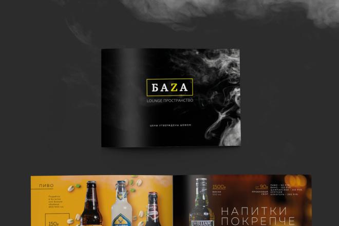 Дизайн и верстка каталога, меню. InDesign 1 - kwork.ru