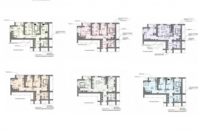 Планировка и перепланировка квартиры, дома, офиса 17 - kwork.ru
