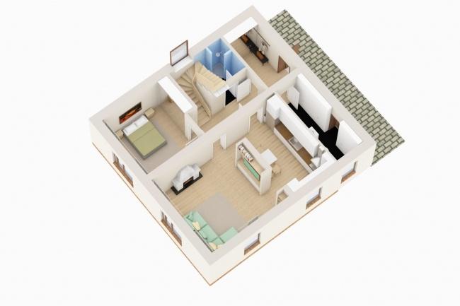 Планировка и перепланировка квартиры, дома, офиса 16 - kwork.ru